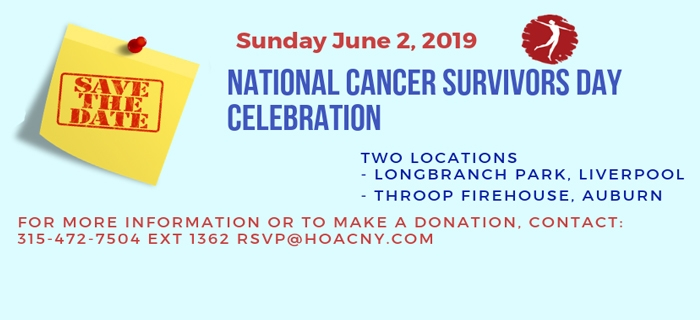 Survivors Day 2019 Save the Date!